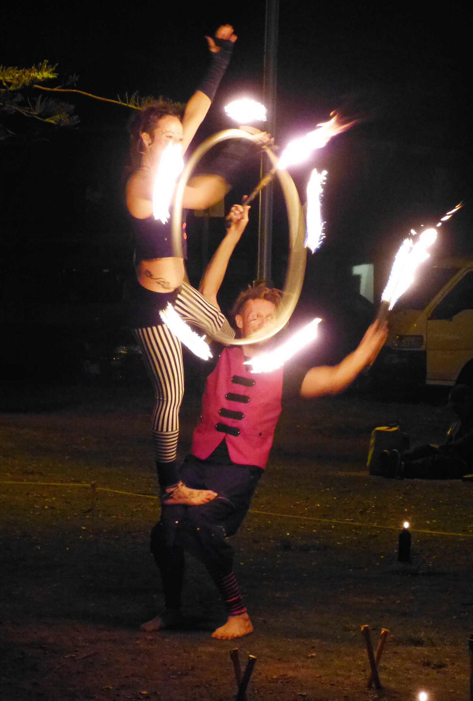 Byron Bay - Little Love Letters - Fire Dancers